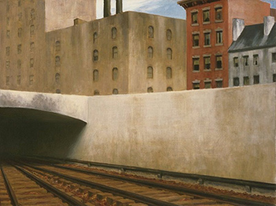 Approaching a City Edward Hopper