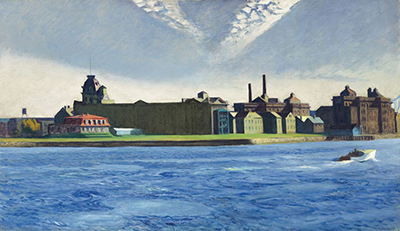 Blackwell's Island Edward Hopper