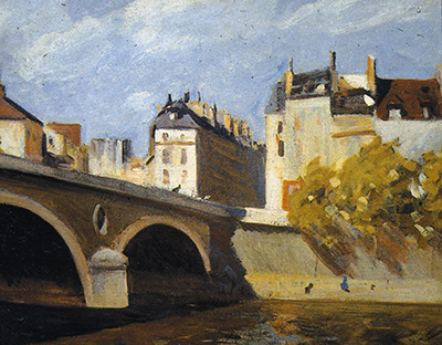 Bridge on the Seine Edward Hopper