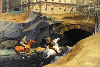 Bridle Path Edward Hopper