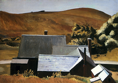 Burly Cobbs House South Truro Edward Hopper