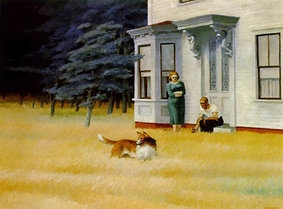 Cape Cod Evening Edward Hopper