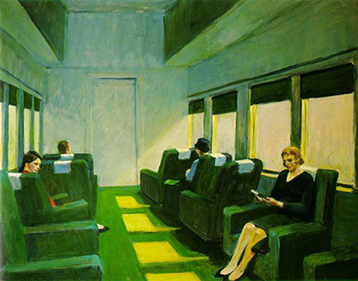 Chair Car Edward Hopper