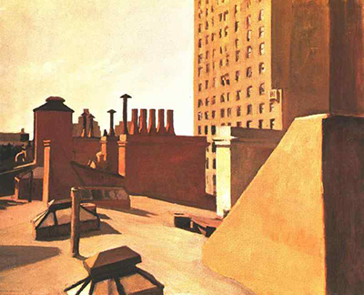 City Roofs Edward Hopper