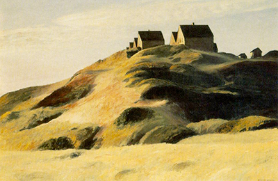 Corn Hill Edward Hopper