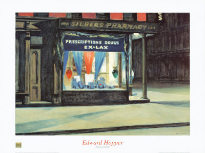 Drug Store Edward Hopper