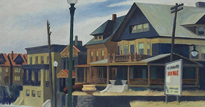East Wind Over Weehawken Edward Hopper