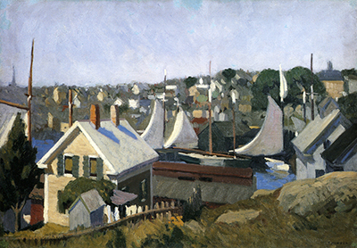 Gloucester Harbor Edward Hopper