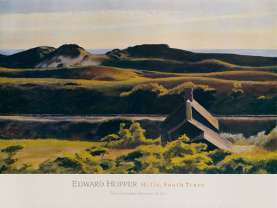 Hills South Truro Edward Hopper