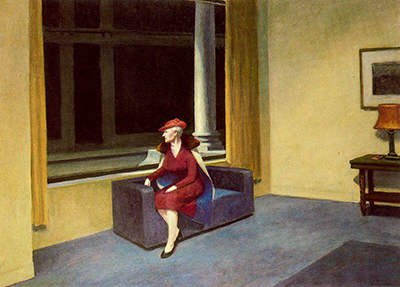Hotel Window Edward Hopper