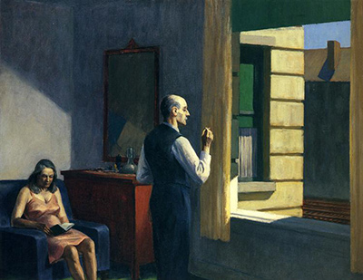 Hotel by a Railroad Edward Hopper