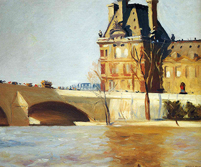 Le Pont Royal Edward Hopper