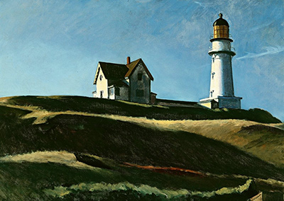Lighthouse Hill Edward Hopper