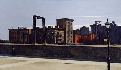 Manhattan Bridge Loop Edward Hopper