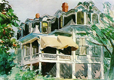 Mansard Roof Edward Hopper