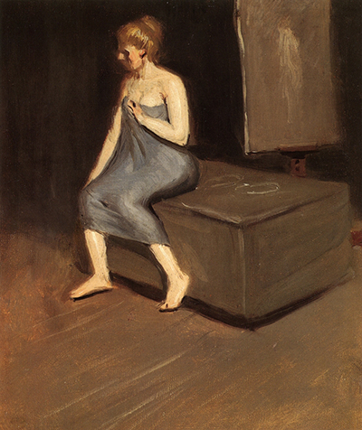 Model Sitting Edward Hopper