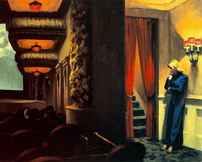 New York Movie Edward Hopper
