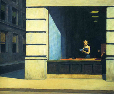 New York Office Edward Hopper