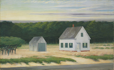 October on Cape Cod Edward Hopper