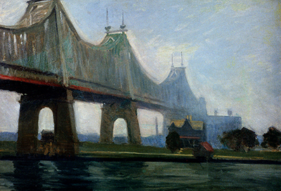 Queensborough Bridge Edward Hopper