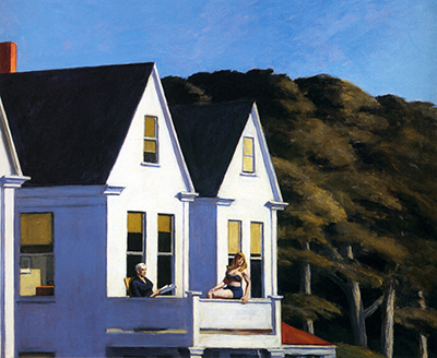 Second Story Sunlight Edward Hopper