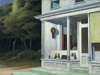 Seven AM Edward Hopper
