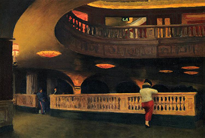 Sheridan Theatre Edward Hopper