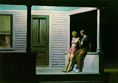 Summer Evening Edward Hopper