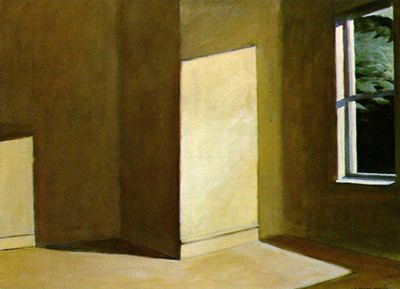 Sun in an Empty Room Edward Hopper