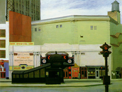 The Circle Theatre Edward Hopper