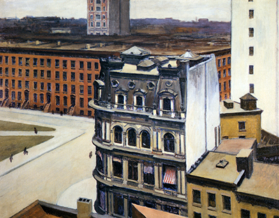 The City Edward Hopper