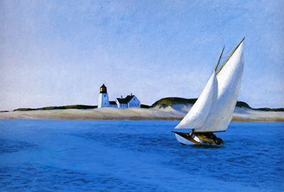 The Long Leg Edward Hopper