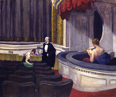 Two on the Aisle Edward Hopper